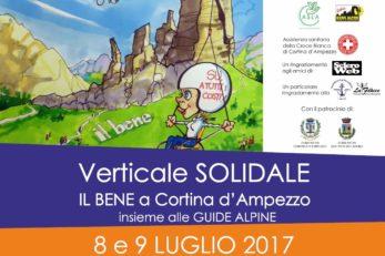 """8 – 9 Luglio – Cortina D'Ampezzo – """"Il BeNe"""" Torna In Montagna Per Il Verticale Solidale 2017"""