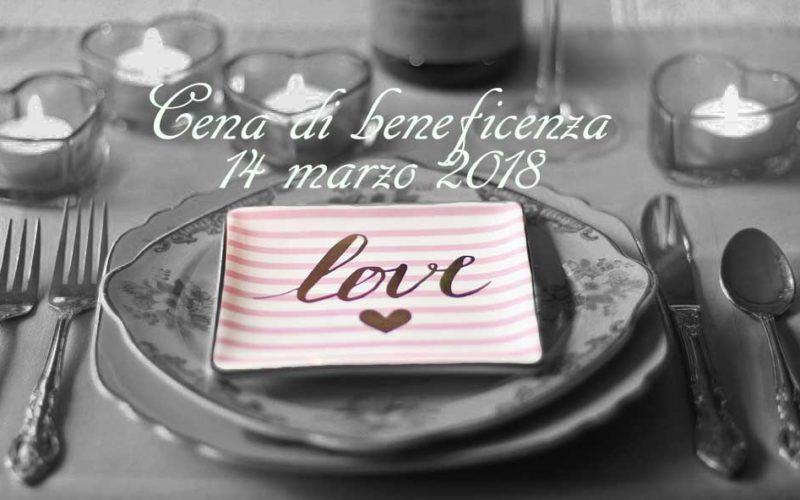 Cena Di Beneficenza 14 Marzo 2018